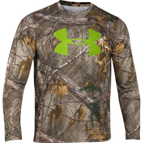 Under Armour® Camo Logo Long Sleeve T-shirt