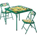 Nickelodeon Kids' Teenage Mutant Ninja Turtles 3-Piece Table and Chairs Set