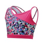 Capezio® Girls' Future Star Splatter Print Bra Top