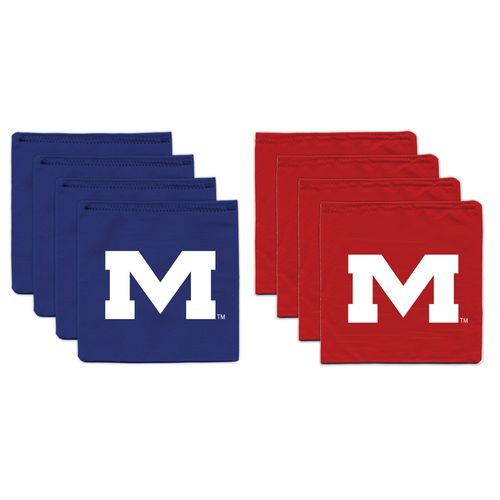 BAGGO® University of Mississippi 9.5 oz. Replacement Beanbag Toss Beanbags 8-Pack