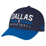 adidas Men's Dallas Mavericks Structured Adjustable Practice Cap