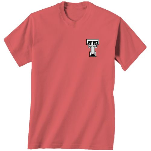 New World Graphics Women's Texas Tech University Floral T-shirt - view number 2