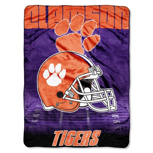 The Northwest Company Clemson University Overtime Micro Raschel Throw