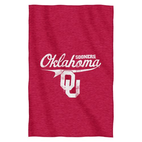 The Northwest Company University of Oklahoma Sweatshirt Throw