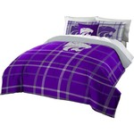 The Northwest Company Kansas State University Full Comforter and Sham Set