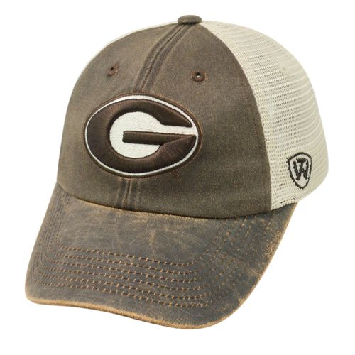 Top of the World Adults' University of Georgia ScatMesh Cap