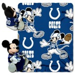 The Northwest Company Indianapolis Colts Mickey Mouse Hugger and Fleece Throw Set - view number 1