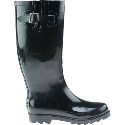 Rubber boots rain boots waterproof boots academy for Womens fishing boots