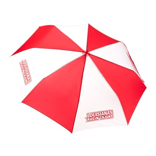 Storm Duds University of Louisiana at Lafayette 42' Super Pocket Mini Folding Umbrella