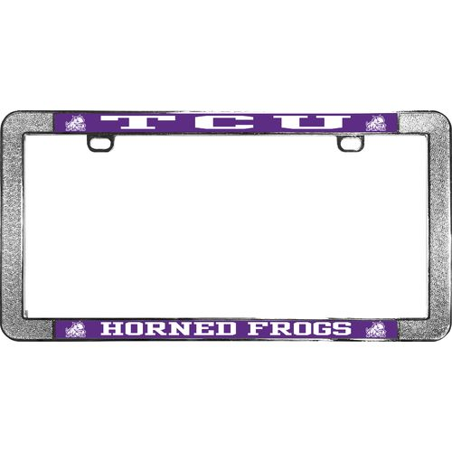 Stockdale Texas Christian University Thin-Rim License Plate Frame