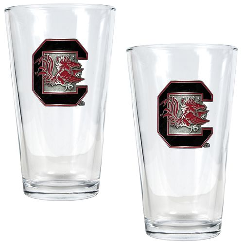 Great American Products University of South Carolina 16 oz. Pint Glasses 2-Pack