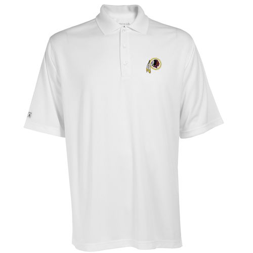 Antigua Men's Washington Redskins Exceed Polo Shirt - view number 1
