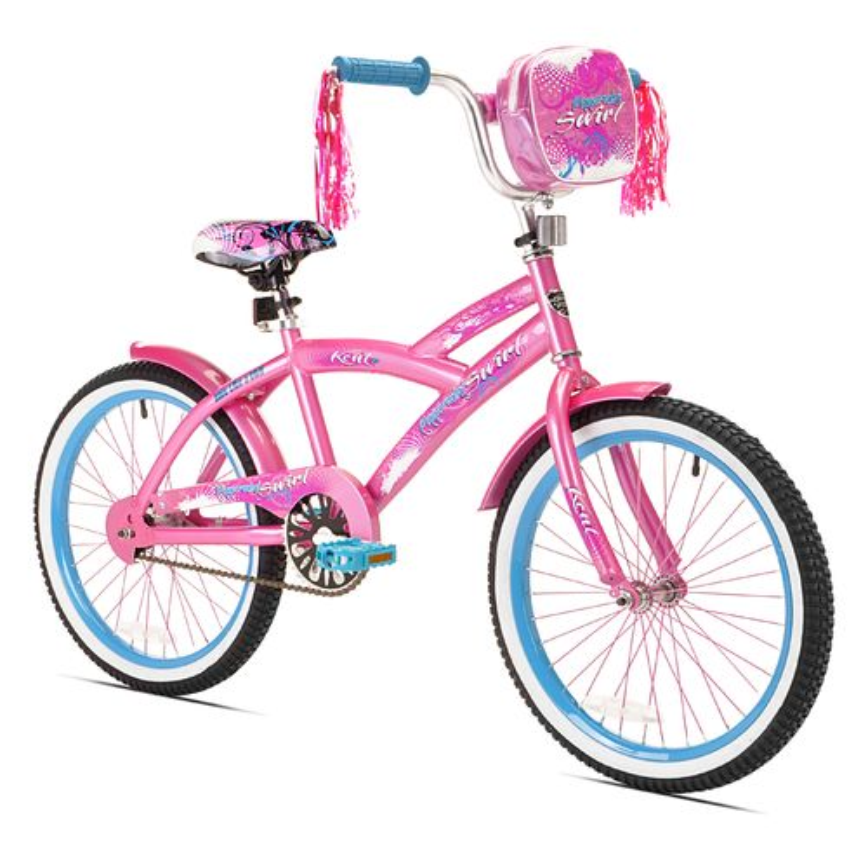 "KENT Girls' Peppermint Swirl 20"" Bicycle"