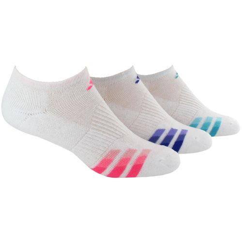 adidas™ Women's Cushioned Variegated No-Show Socks 3-Pair