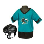 Franklin Kids' San Jose Sharks Uniform Set