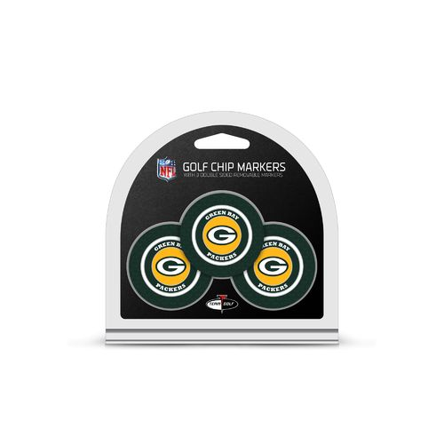 Team Golf Green Bay Packers Poker Chip and Golf Ball Marker Set
