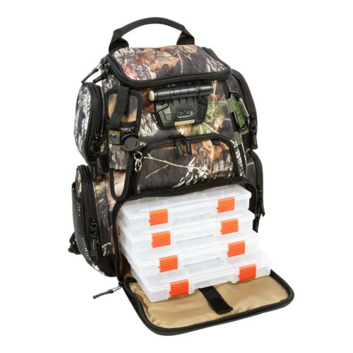 Wild River® Tackle Tek™ Recon Mossy Oak Camo Lighted Fishing Backpack - view number 1