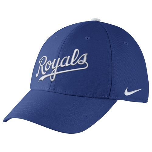 Nike™ Adults' Kansas City Royals Classic Dri-FIT Swoosh Flex Cap