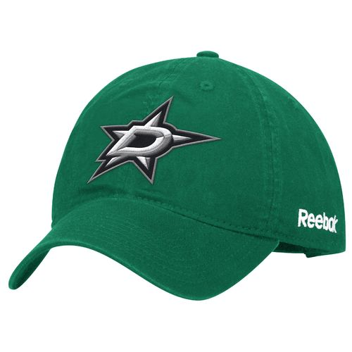 Reebok Men's Dallas Stars Basics Adjustable Slouch Cap
