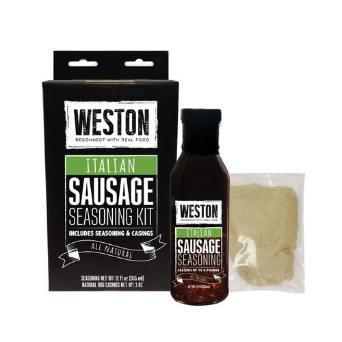 Weston Mild Italian Sausage Tonic Seasoning Kit