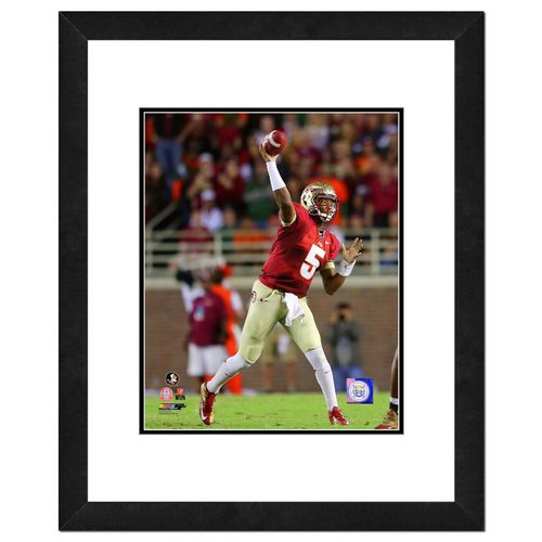 "Photo File Florida State University Jameis Winston 16"" x 20"" Matted and Framed Photo"