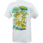 Guy Harvey Men's Largemouth Lilies T-shirt