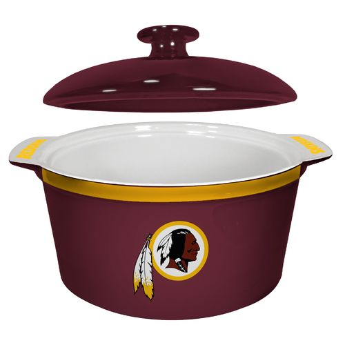 Boelter Brands Washington Redskins Gametime 2.4 qt. Oven Bowl