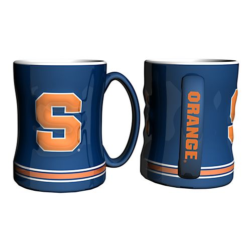 Boelter Brands Syracuse University 14 oz. Relief Mugs 2-Pack