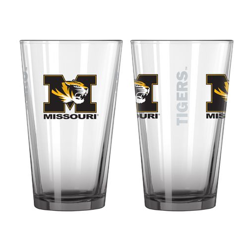 Boelter Brands University of Missouri Elite 16 oz. Pint Glasses 2-Pack
