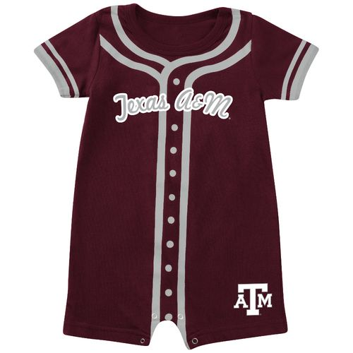 Colosseum Athletics Infants' Texas A&M University Baseball Romper