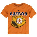 Majestic Toddler Boys' Houston Astros Baseball Mitt Short Sleeve T-shirt