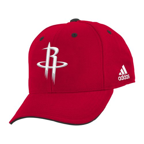 adidas™ Boys' Houston Rockets Basic Structured Adjustable Cap
