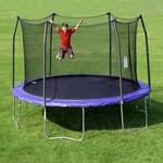 Skywalker Trampolines 12' Round Trampoline with Enclosure - view number 2