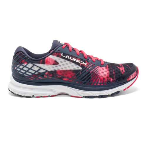 Navy Brooks Blue/Pink Glo/White