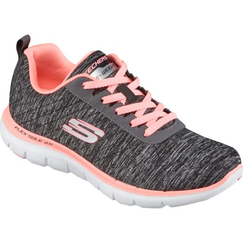 pink skechers for women