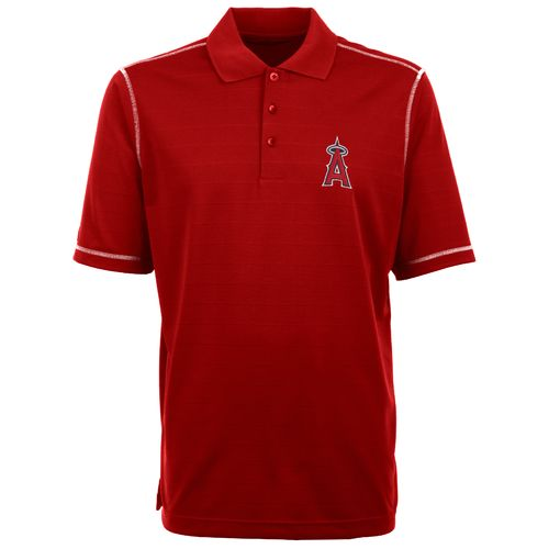 Antigua Men's Los Angeles Angels of Anaheim Icon Piqué Polo Shirt