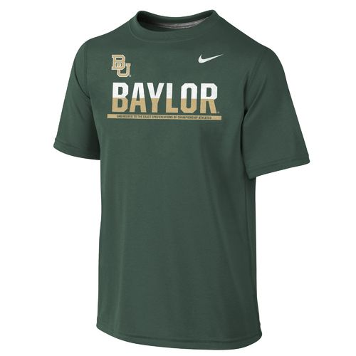 Nike™ Boys' Baylor University Dri-FIT Legend Logo T-shirt