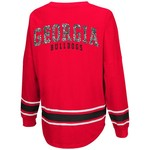 Colosseum Athletics™ Women's University of Georgia My Boyfriend Varsity Pullover