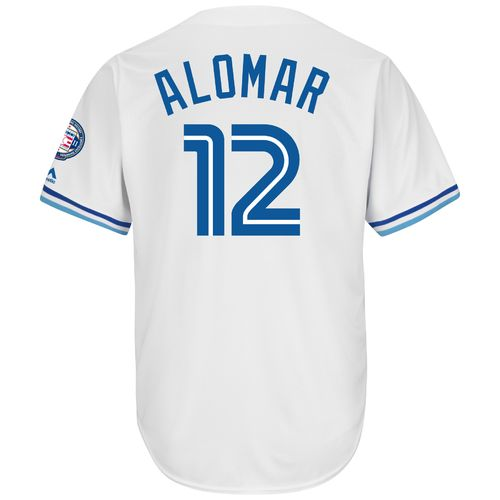 Majestic Men's Toronto Blue Jays Roberto Alomar #12 Cool Base Cooperstown Jersey - view number 1