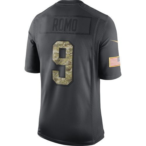 Nike Men's Dallas Cowboys Tony Romo #9 Salute To Service Jersey