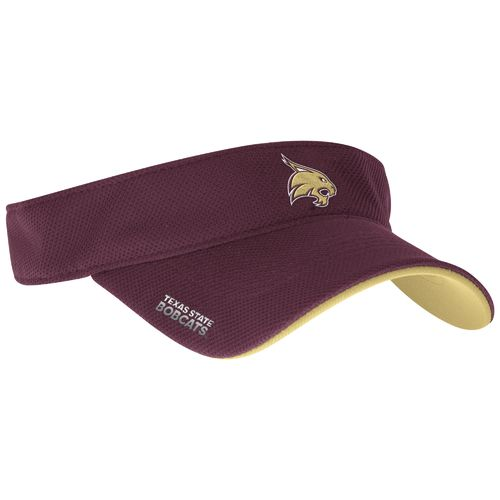 adidas™ Men's Texas State University Spring Game Sideline Adjustable Visor
