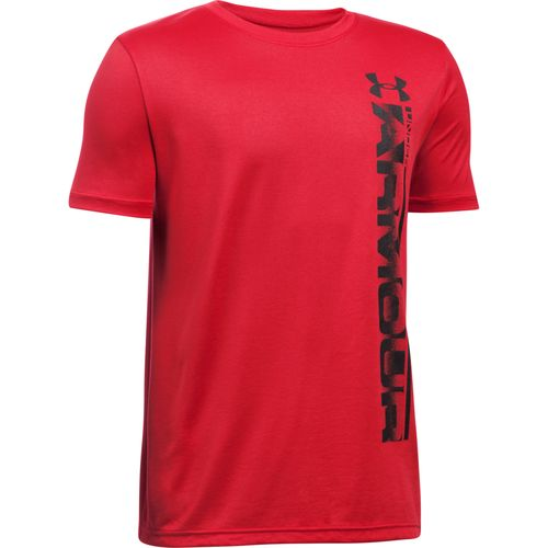 Under Armour® Boys' Sideline Logo Short Sleeve T-shirt