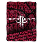The Northwest Company Houston Rockets 40 Yard Dash Micro Raschel Throw - view number 1