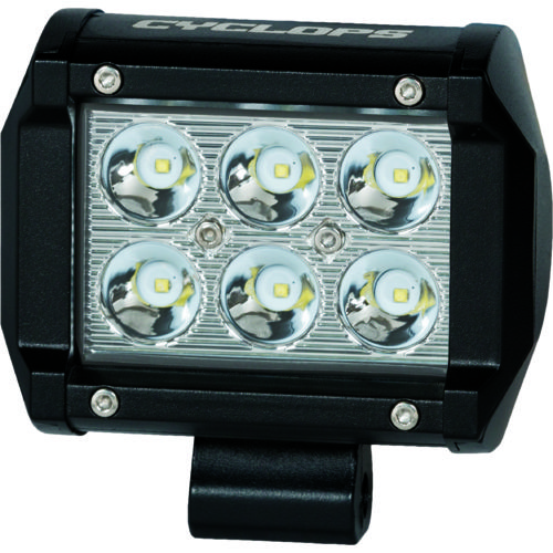 Lights add ons led bar lights light bar mounting kits academy cyclops 18w dual row bottom mount led bar light aloadofball Choice Image
