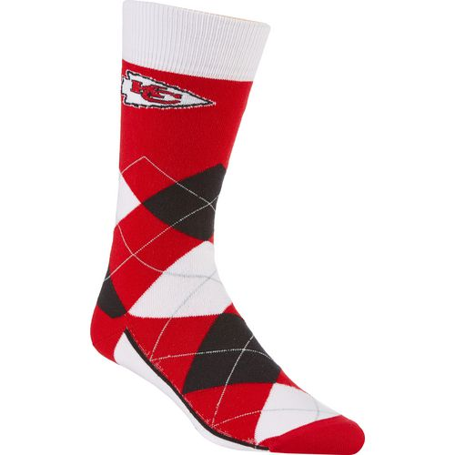 For Bare Feet Unisex Kansas City Chiefs Team Pride Flag Top Dress Socks - view number 1