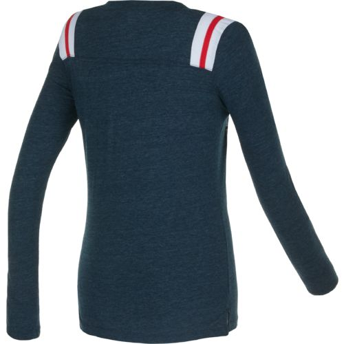 5th & Ocean Clothing Juniors' Houston Texans Block Lettering Long Sleeve T-shirt - view number 2