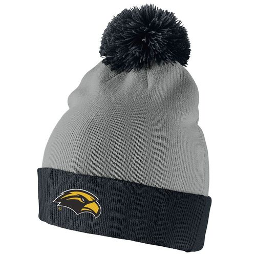 Nike™ Men's University of Southern Mississippi Swoosh Pom-Pom Knit Cap