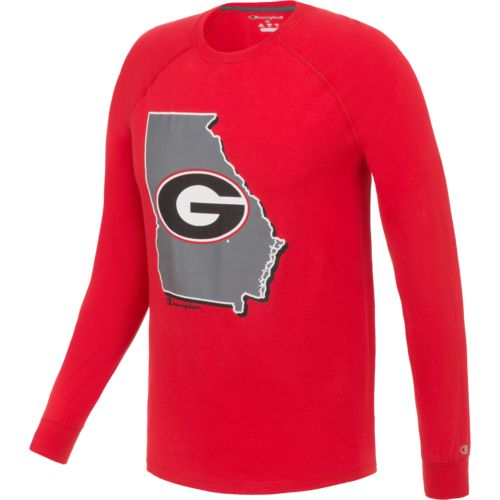 Champion™ Men's University of Georgia Long Sleeve
