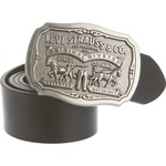 Levi's Men's Metal Round Logo Buckle Belt - view number 1