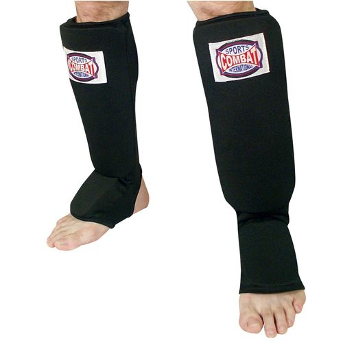Combat Sports International Adults' Slip-On Shin Instep Guards - view number 1